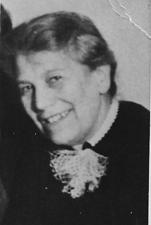 Alice Stahn, vermutlich in den 1950er-Jahren