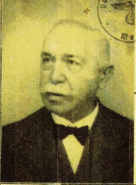 Foto Elias Höxters in seiner Kennkarte