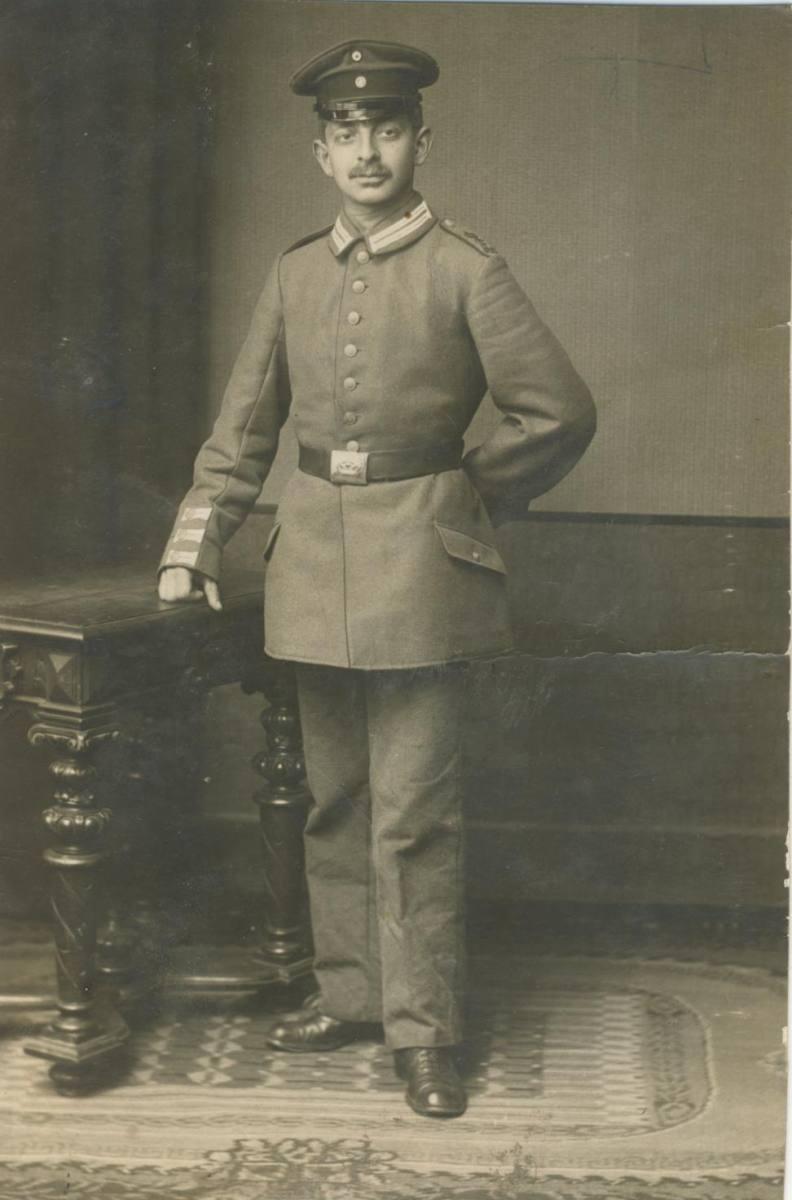 Ersatzreservist Otto Hirsch, Mainz 1914