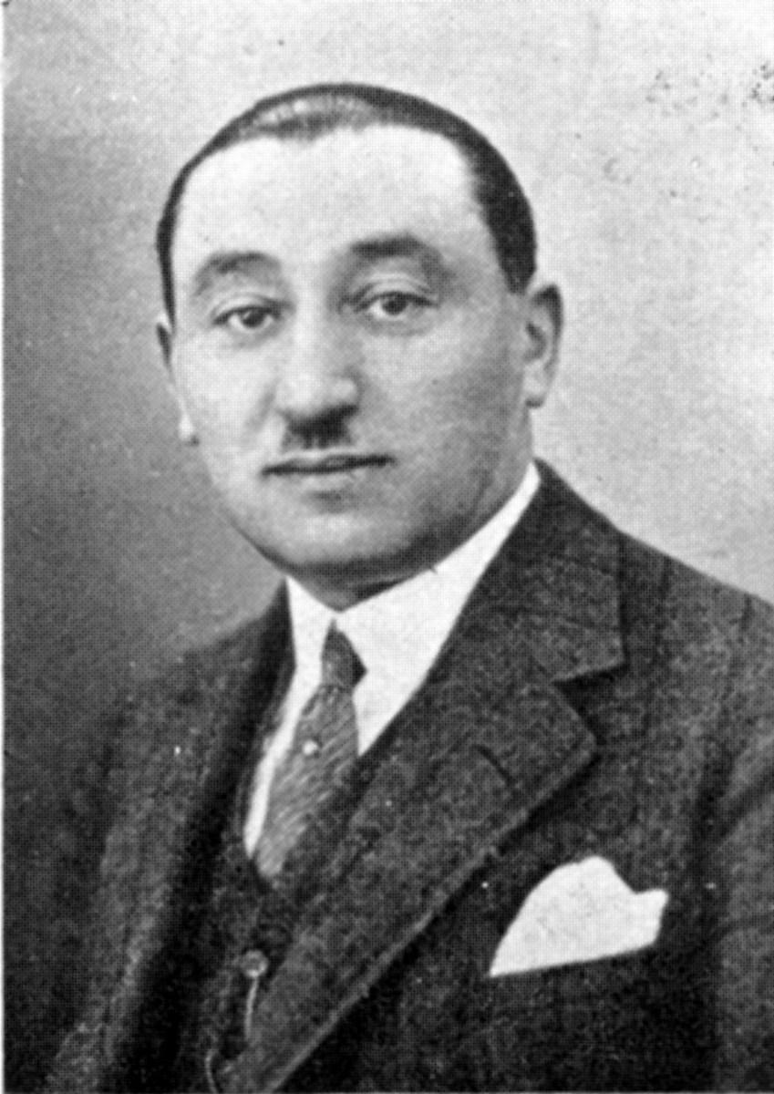 Porträt von Eugen Salomon, 1930