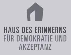 Logo Stiftung Haus des Erinnerns - für Demokratie und Akzeptanz